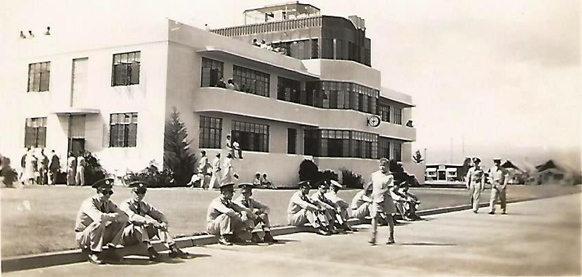 8. Hickam's Base Operations building where my dad worked on December 7, 1941