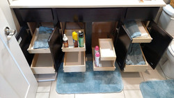 Bring your bathroom cabinet space out to you!