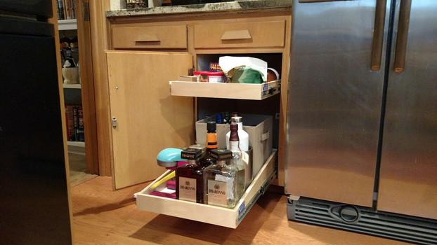 Kitchen Cabinet Slide Out Shelves