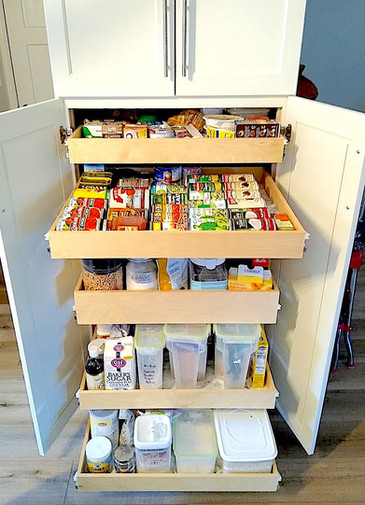 Accessable Pantry Storage