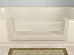 Beige Step in Tub Cut-Out by The Best Home Guys of Wichita, KS