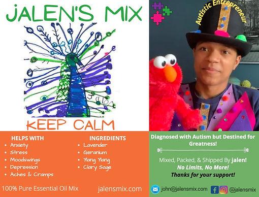 Jalen's Mix - Keep Calm Essnetial Oils