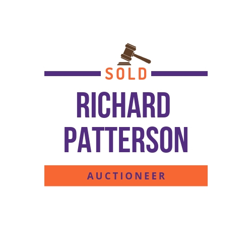 Logo: Richard Patterson, Auctioneer