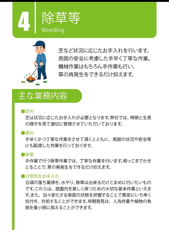 除草作業・熊本