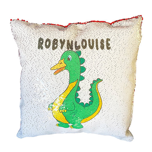 Personalised ROREE Sequin Cushion Cover