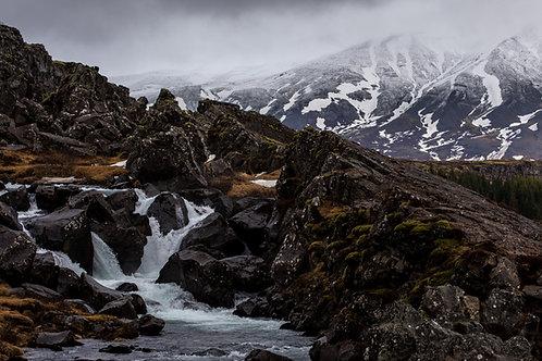 Waterfall - Southern Iceland