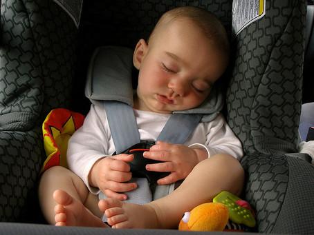Car Seat Sleeping!