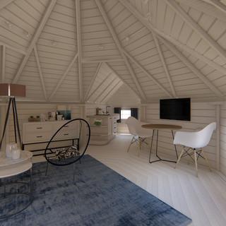 Kota cabane 16,5 m² avec 2 extensions