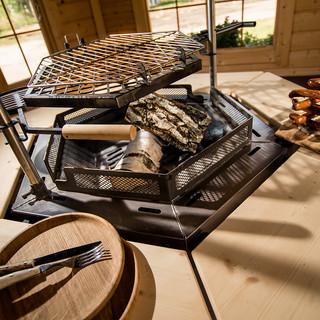 Pavillon grill 9.2 m²