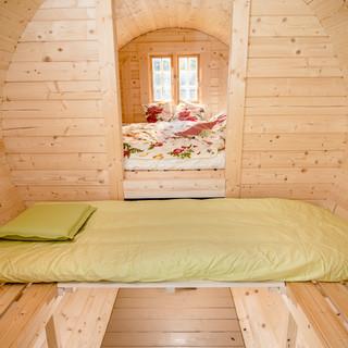 Tonneau de couchage 2,20 x 4,00 m