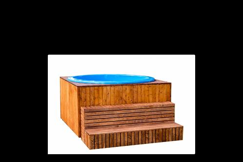 Bain cube nordique