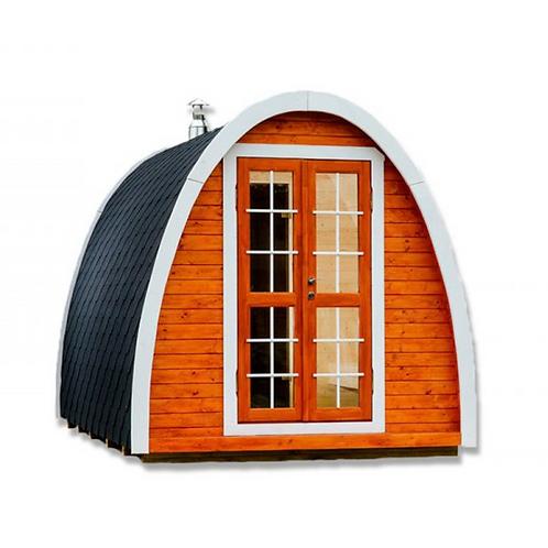 Sauna pod 2,40 x 4,00 m