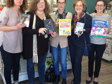 Authors for Indies:  April 30th