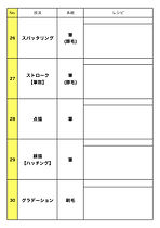 油絵30技法習得講座技法表kotte.jpg