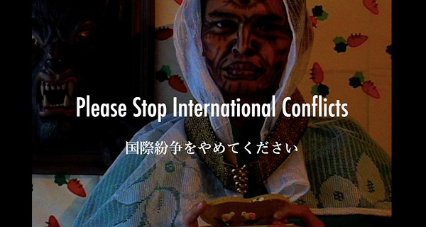 Please Stop International Conflicts_Teru