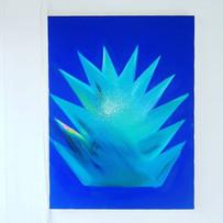 ©TerumiGOTO_The plant_2019,Oil on canvas