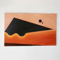 _terumigotoh _UFO_2019_Oil and sand on c