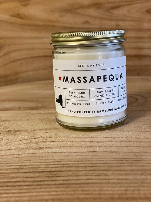 Massapequa, New York Candle
