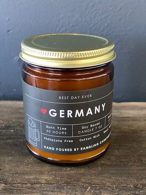 Germany Candle