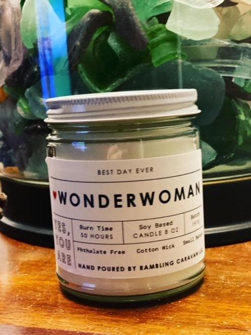 Wonderwoman Candle