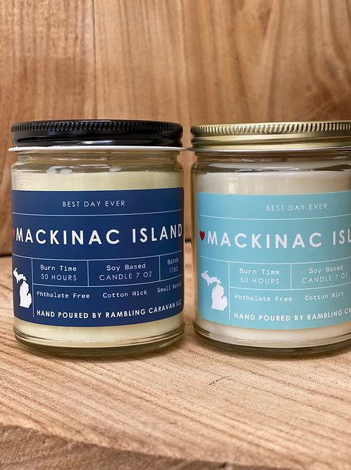 Mackinac Island, Michigan Candle