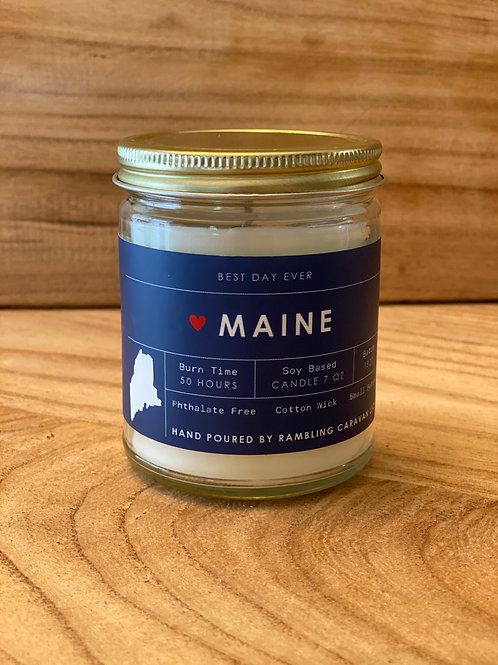 Maine Candle