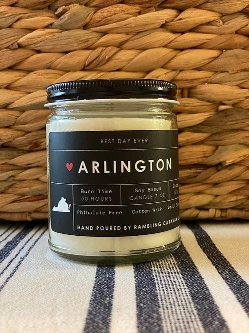 Arlington, Virginia Candle