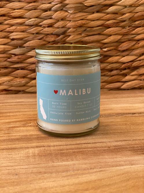 Malibu, California Candle