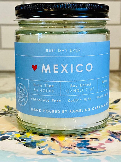 Mexico Candle