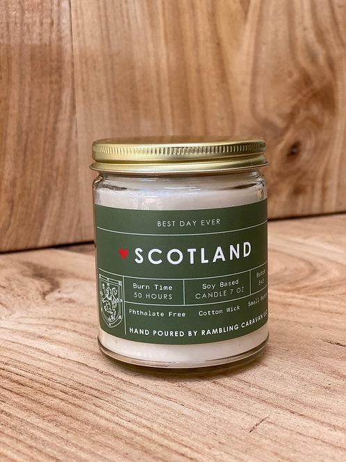 Scotland Candle