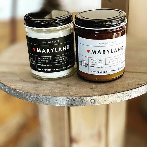 Maryland Candle