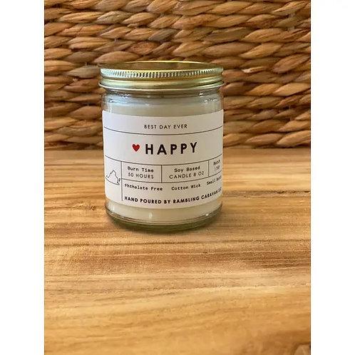 Happy (Virginia) Candle