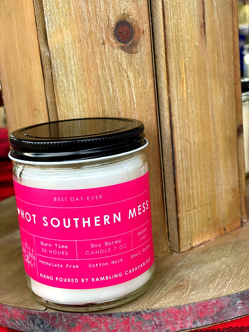Hot Southern Mess Candle