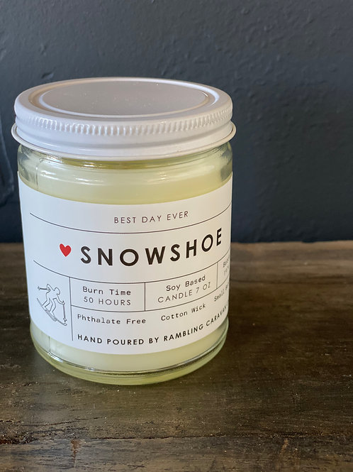 Snowshoe, West Virginia Candle