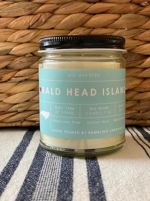 Bald Head Island, North Carolina Candle