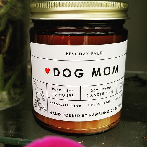 Dog Mom Candle