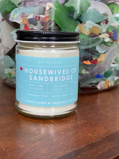 Housewives of Sandbridge, Virginia Beach, Virginia Candle