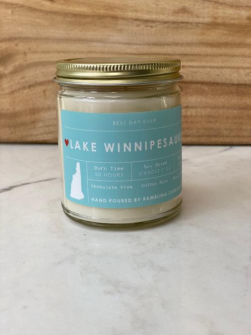 Lake Winnipesaukee, New Hampshire Candle