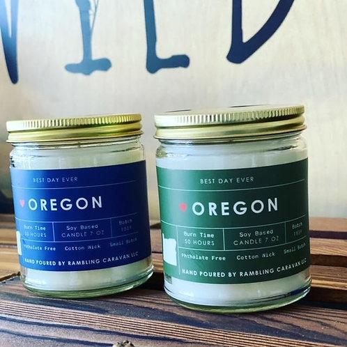 Oregon Candle