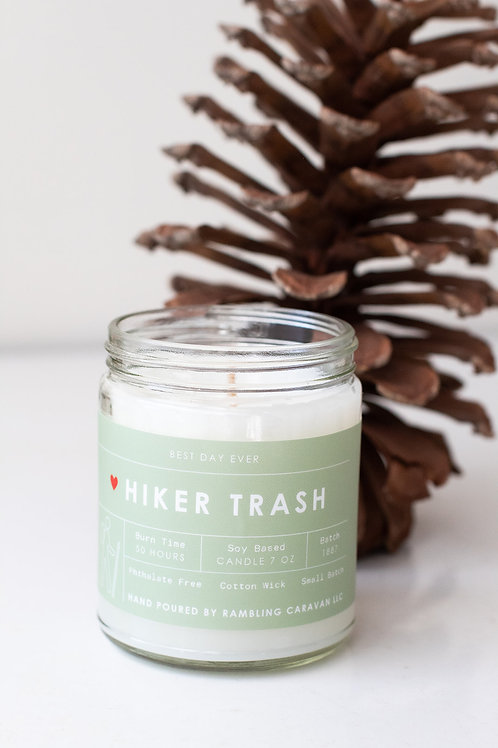 Hiker Trash Candle