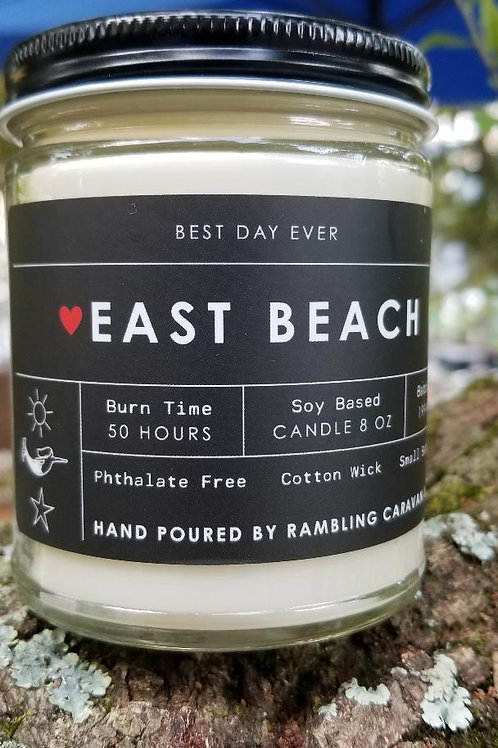 East Beach, Norfolk, Virginia Candle