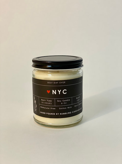 NYC, New York Candle