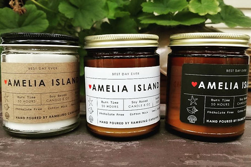 Amelia Island, Florida Candle