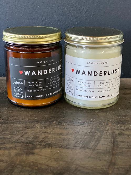 Wanderlust Candle