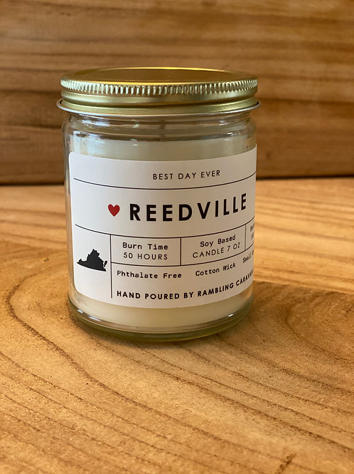 Reedville, Virginia Candle