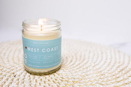 West Coast Love Candle