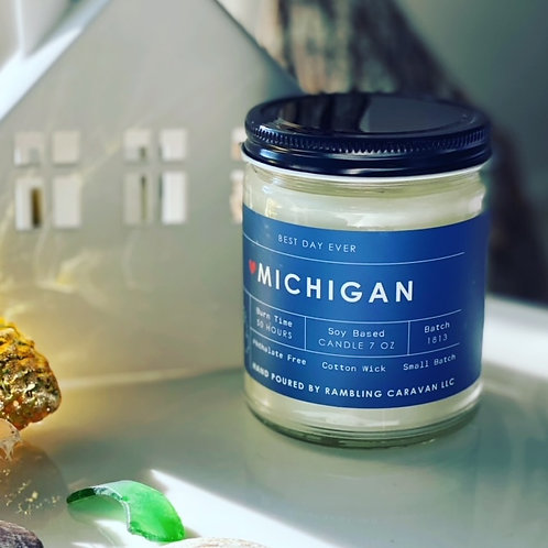 Michigan Candle