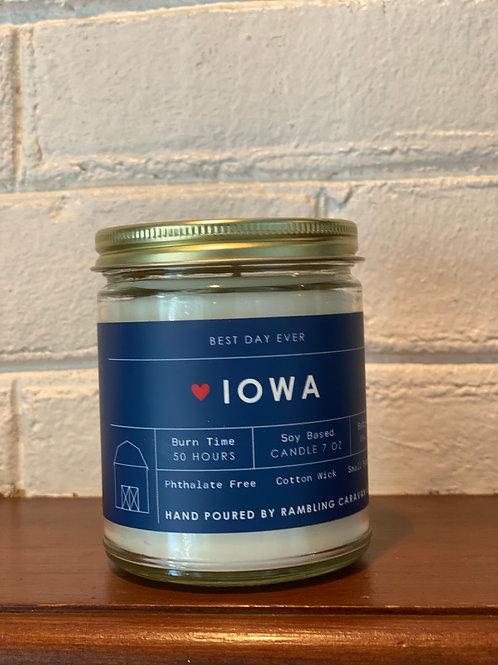 Iowa Candle