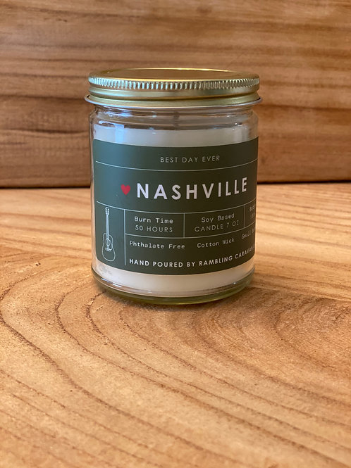 Nashville, Tennessee Candle