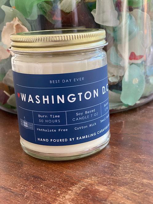 Washington DC Candle